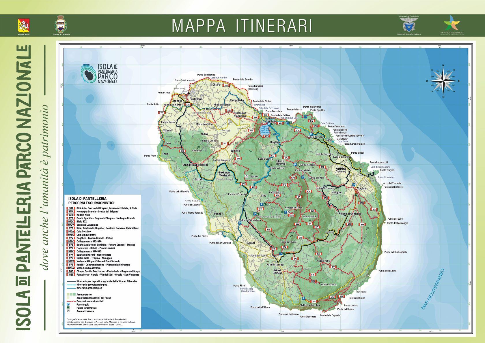 Cartina Mondo Scaricabile.Nuova Cartina Del Parco Di Pantelleria Scaricabile Il Giornale Di Pantelleria